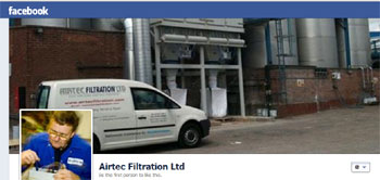 Airtec Filtration Ltd has a New Facebook page