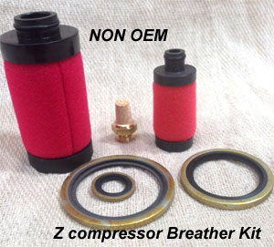 Replacement Breather KIT NON OEM for Atlas Copco ZA ZR ZT ZE & VSD versions of  compressed air oil free models